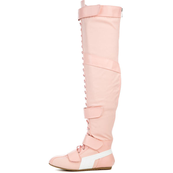 Cape Robbin Women's Helena-1 Blush Boots