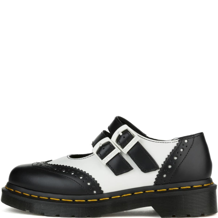 Dr. Martens for Women: Adena II Black/White Mary Jane