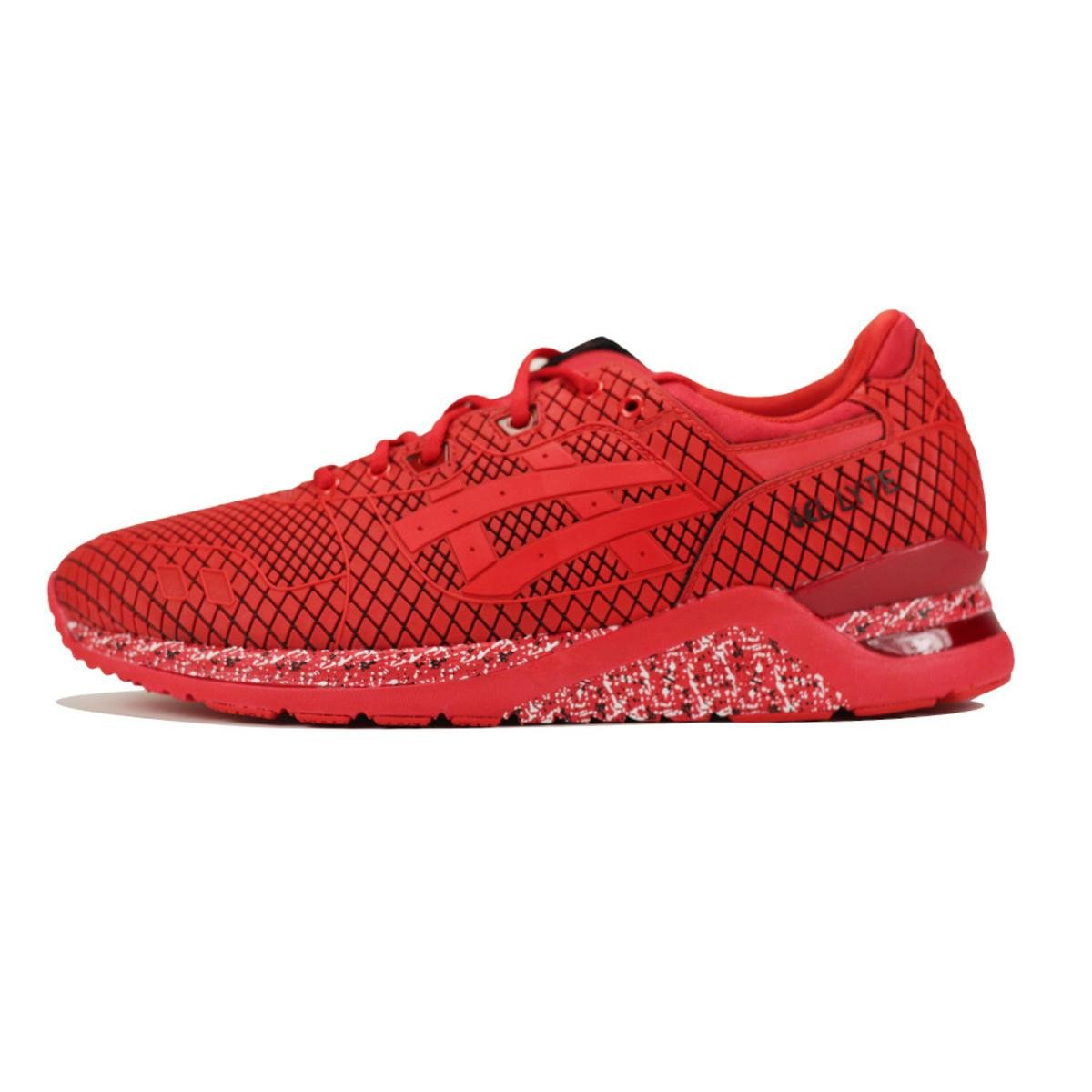 Asics for Men: Gel-Lyte Samurai Collection Red Sneaker