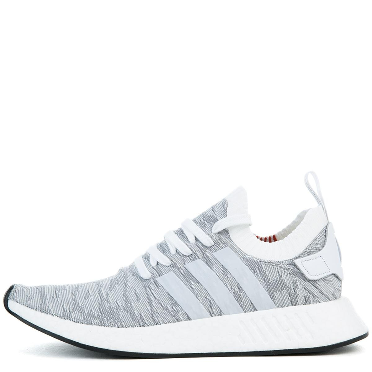 The NMD_R2 PK in White and Coral Black