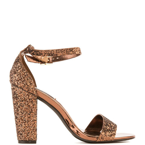 Women's Lisa-25 High Heel Dress Shoe Bronze High Heel Shoes