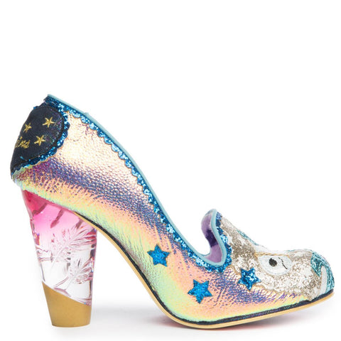 Irregular Choice Lady Mist Women's Gold Heels