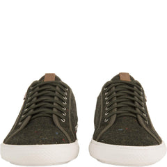 Ben Sherman for Men: Chandler Lo Green Sneakers