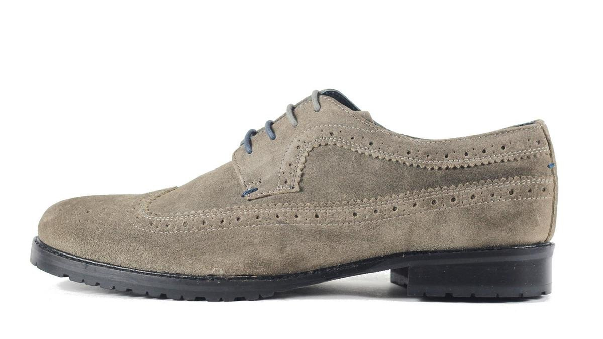 Men's Marvis Gray Oxfords