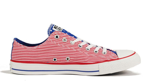 Converse: CT Ox Red White Blue Sneaker