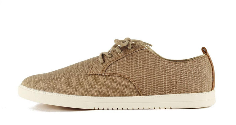 Men's Ellington Walnut Herringbone Canvas Sneakers