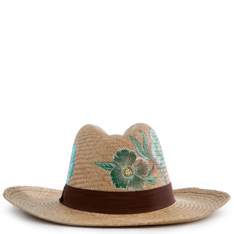 Colibri Brown Panama Hat Size L