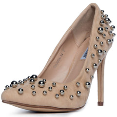 Cape Robbin Tiarra-34 Women's Nude High Heel