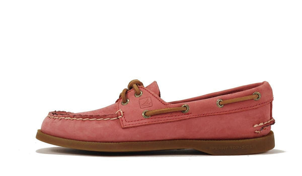 Sperry Topsider for Women: A/O Washed Red Boat Shoe