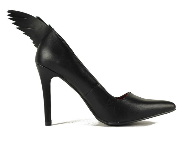Women's Angyl Black Heels