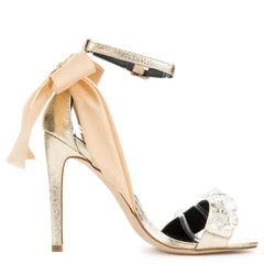Cape Robbin Lola-19 Gold Women's High Heel