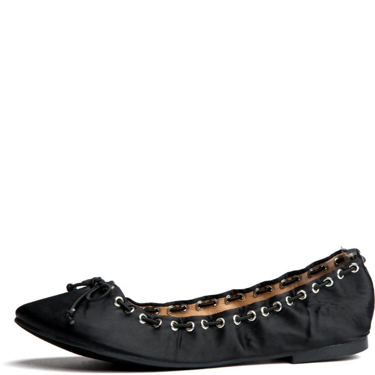 Cape Robbin Penny-2 Black Women's Flat