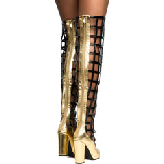 Cape Robbin Beautiful-5 Gold Women's Boot