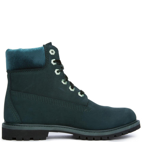 "Women's 6"" Premium Icon Dark Green Boot"