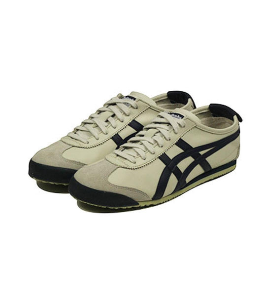 Onitsuka Tiger Unisex: Mexico 66 Birch, India Ink, & Latte Sneaker