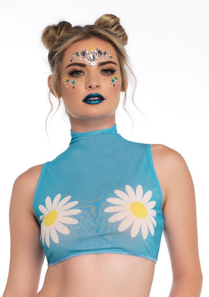 Women's Daisy Crop Top