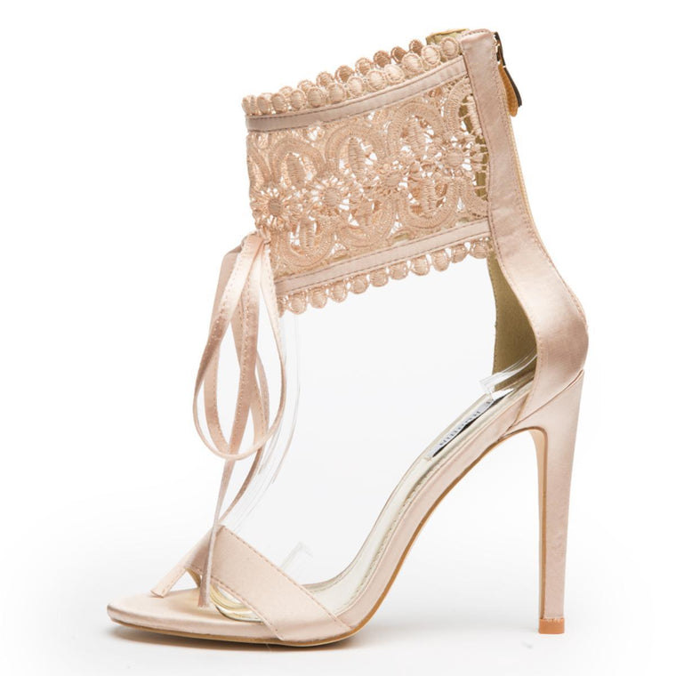 Cape Robbin Suzzy-88 Champagne Women's High Heel