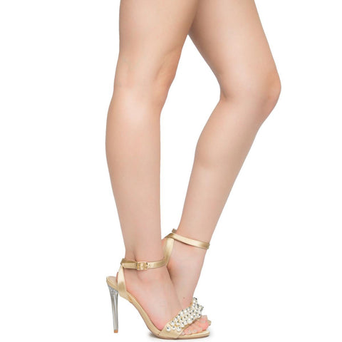 Cape Robbin Craft-2 Women's Nude High Heel