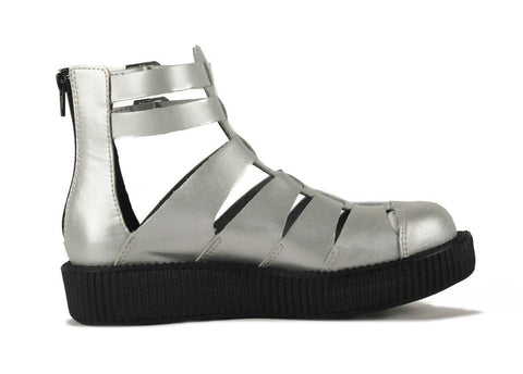 T.U.K. for Women: Gladiator Viva Low Silver