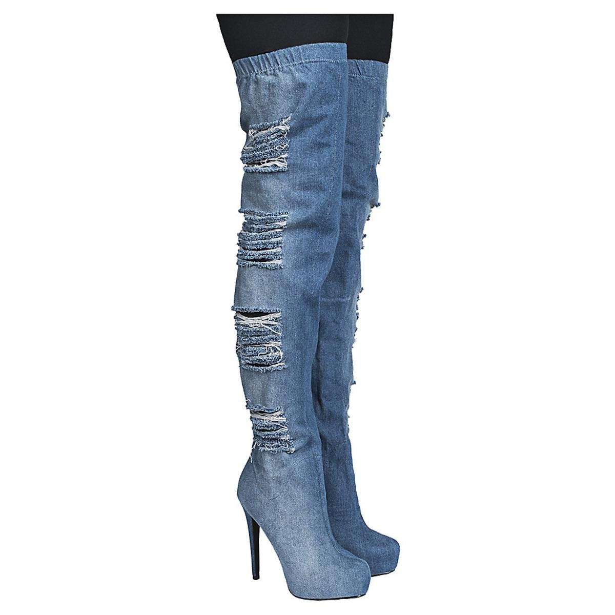 Women's Thigh-High High Heel Boot Malina