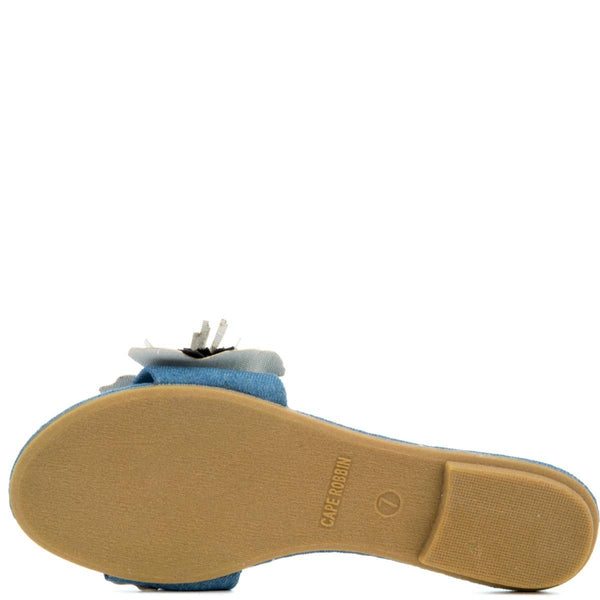 Cape Robbin Women's Sandal-10 Denim Sandal