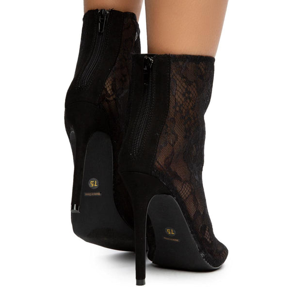 Jayc Lace Booties