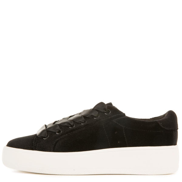 4d0a0d95e49 Steve Madden for Women: Bertie-V Black Platform Sneakers
