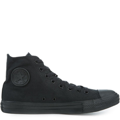 Converse Unisex: Chuck Taylor Hightop Black Canvas