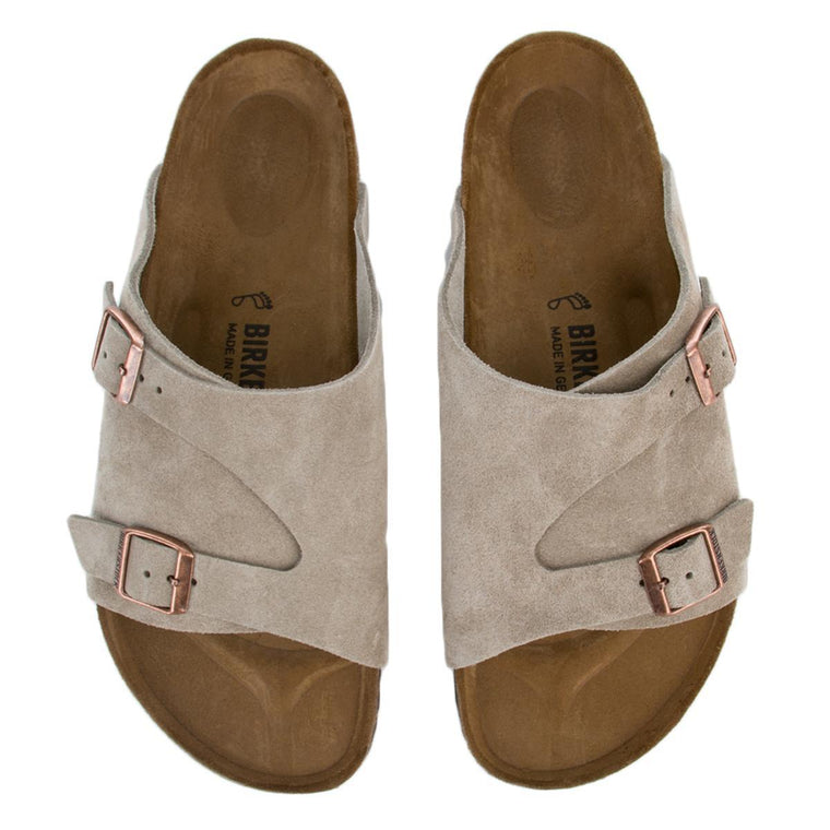 Birkenstock Zurich Regular Men's Taupe Sandals