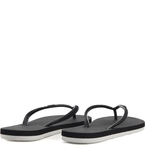 Hayn for Women: Lava Rock Black Sandals