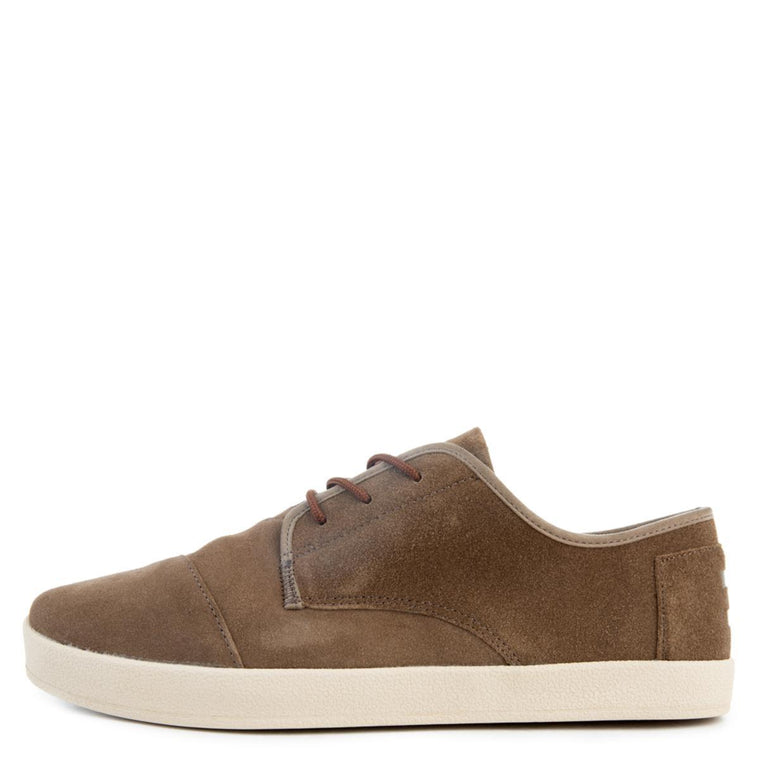 Paseo in Desert Taupe Suede
