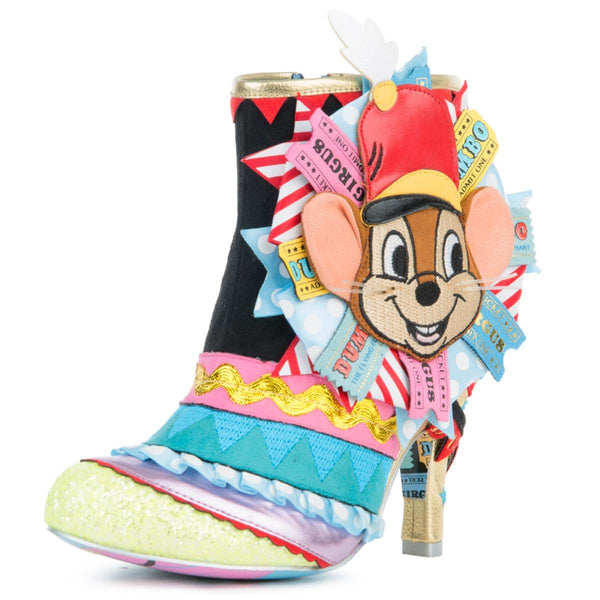 Disney's Dumbo x Irregular Choice  I Give You ...Dumbo Ankle Booties