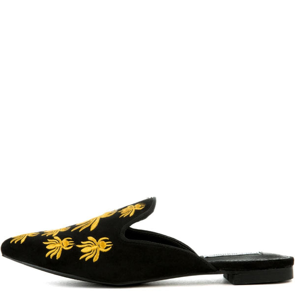 Cape Robbin Cell-18 Women's Black Mules