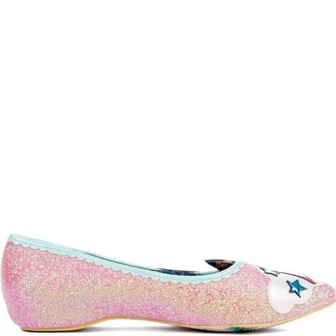 Women's Ground Control Pink Flats