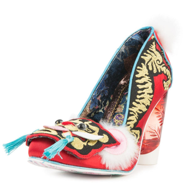Irregular Choice Ruby Envelope High Heel