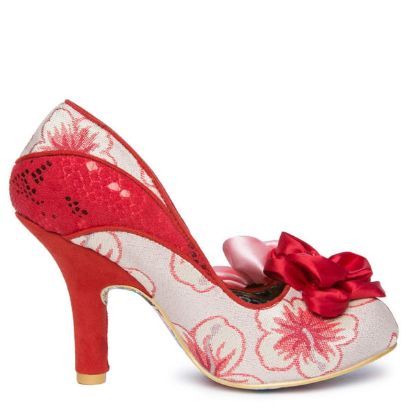 Women's Peach Melba Red High Heel