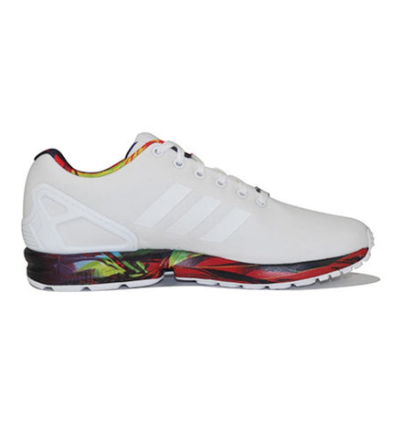 adidas for Men: ZX Flux Running White Sneakers