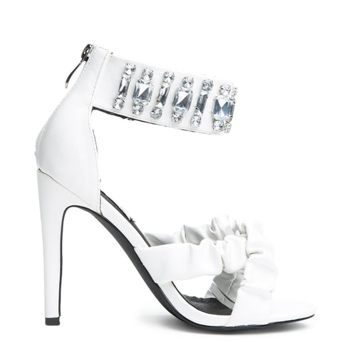 Cape Robbin Suzzy-94 White Women's High Heel