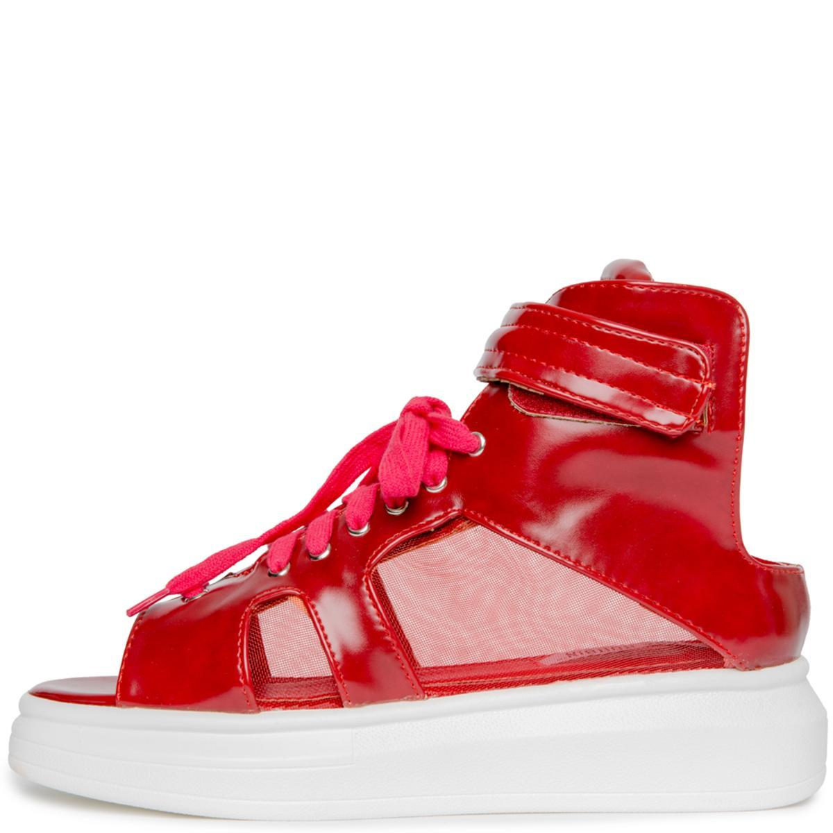 Cape Robbin Forever-7 Women's Red Sneakers