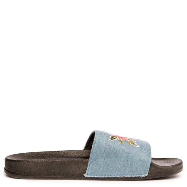 Cape Robbin Moira-59 Women's Light Blue Slides