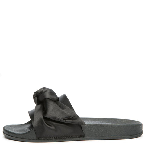 Cape Robbin Moira-19 Women's Black Slides