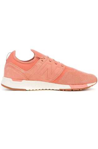 The 247 Sneaker in Rose and Sea Salt