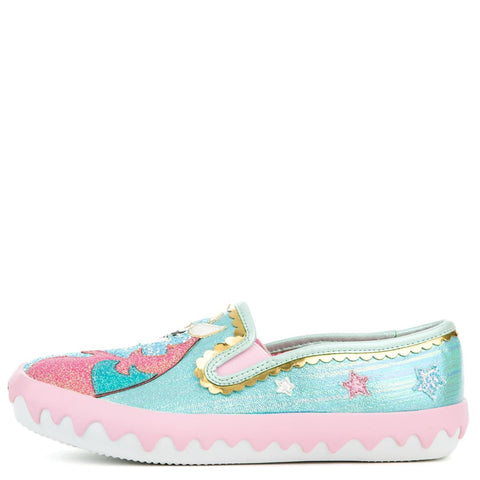 Women's Misty's Castle Green Slip-on