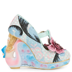Women's Aquata Pink and Mint Platform