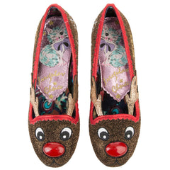 WOMEN'S RED NOSE ROO FLATS