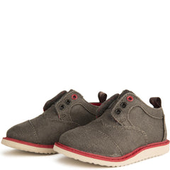 Tiny Toms Brogue Ash Twill Sneakers