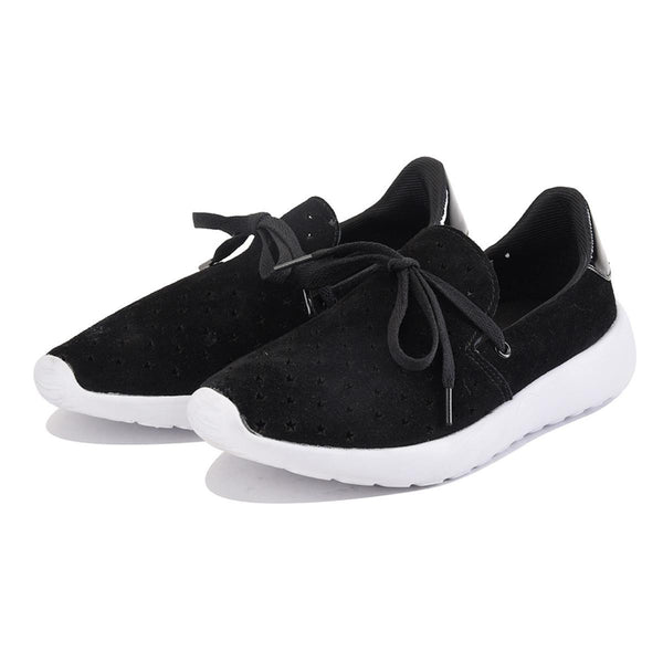 Y.R.U. for Women: Beem Stars Black Sneaker