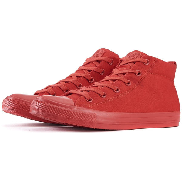 Converse Unisex: Hi Street Mono Red Sneakers