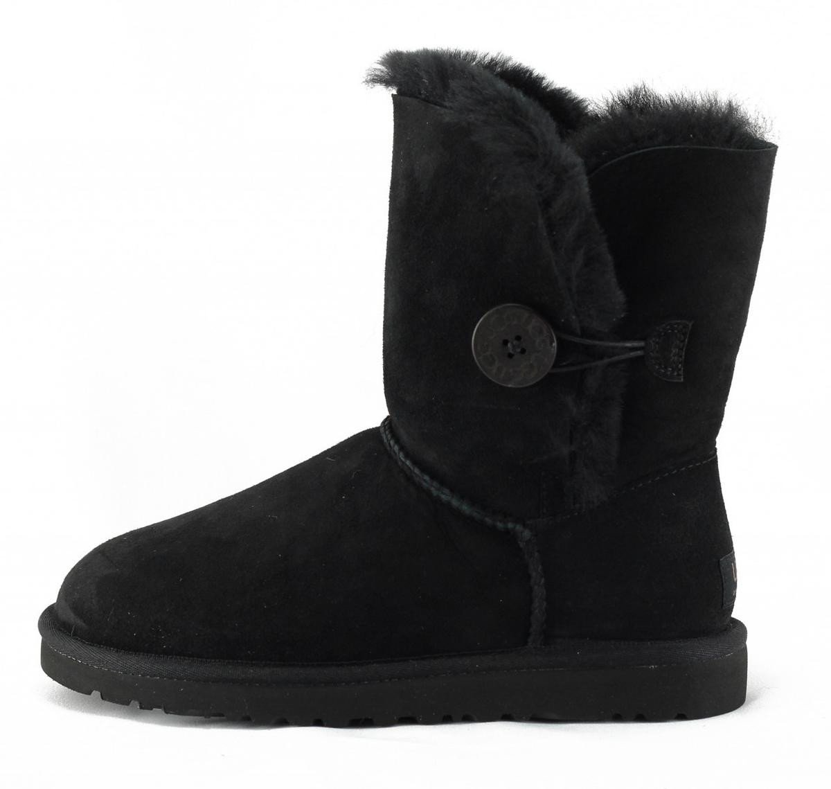 UGG Australia for Women: Bailey Black Boots