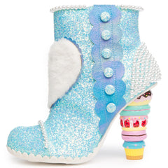 Irregular Choice Bee Delicious Women's Blue Bootie